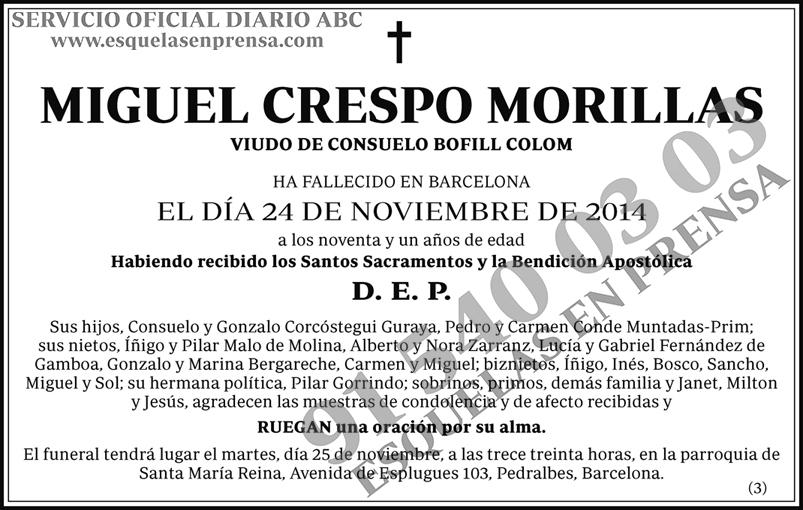 Miguel Crespo Morillas